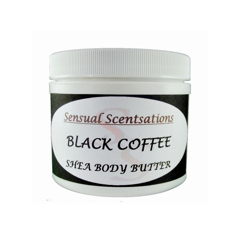 Coffee Scented Body Butter Deep Moisturizing Whipped Shea 4oz Jar